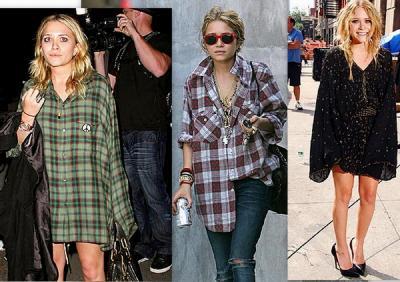 Mary-Kate Olsen y su Estilo Grunge