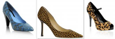 ANIMAL PRINT EN LOS ZAPATOS