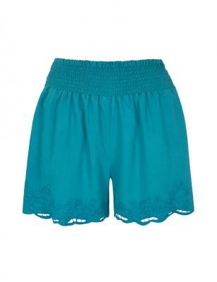 pantalón short lencero de BLANCO