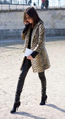 tendencias leopardo animal print