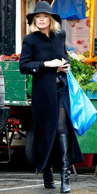 Estilo de ...Kate Moss,abrigarse con estilo