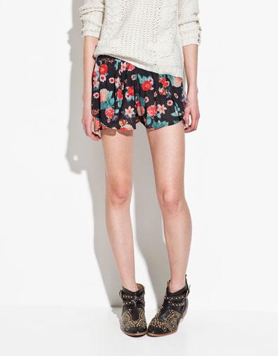 shorts de Zara