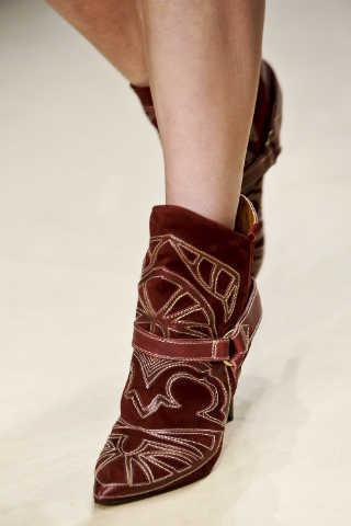 botas cowboy de Isabel Marant