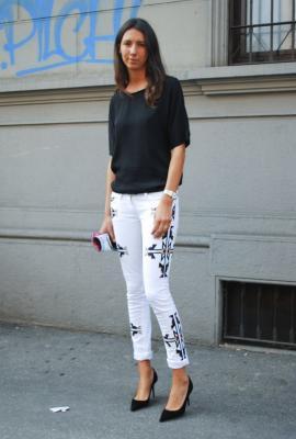 pantalones blancos en invierno si o no?