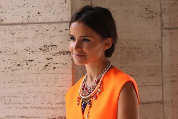 Miroslava Duma y los complementos